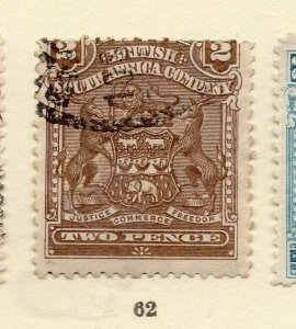 Rhodesia 1900s Early Issue Fine Used 2d. NW-170437