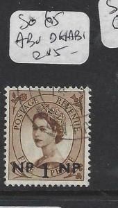 BRITISH PO IN EAST ARABIA (P0903B)  SG 65    CANCEL  ABU DHABI    VFU