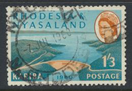 Rhodesia & Nyasaland SG 35 Sc# 175  Used Hydro Electric Scheme