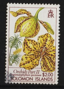 Solomon Islands 1989 Orchids 2$ (1/4) USED