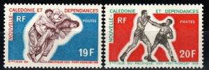 New Caledonia #377-8  MNH  CV $7.50 (X672)