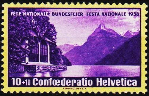 Switzerland.1938 10c+10c S.G.387 Unmounted Mint