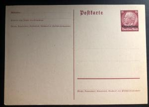 Mint Original Luxembourg Germany Postal Stationary Postcard Overprints