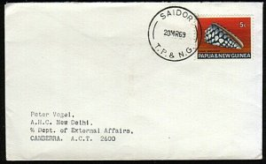 PAPUA NEW GUINEA 1969 cover - SAIDOR cds...................................18162