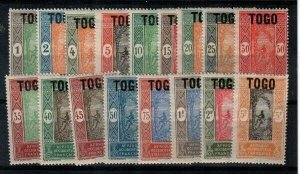 Togo Scott 193-209 Mint NH [TE925]