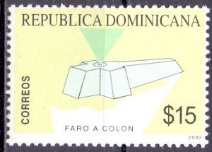 Dominican Republic. 2002. 2054. chronology. MNH.