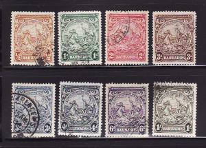 Barbados 193A, 194A, 195B, 197, 197A, 198, 199, 200 U