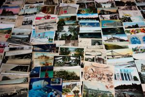 US & World Post Cards Lot of 300x ++ Early Full Color & B&W Lot