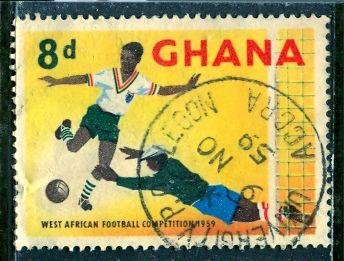 Ghana; 1959: Sc. # 64: O/Used Single Stamp