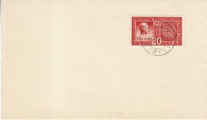 Cover Germany Norway 1942 WWII Quisling Third Reich Collaborator Oslo FDC 10