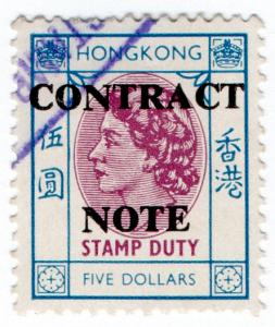 (I.B) Hong Kong Revenue : Contract Note $5
