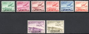 IRAQ C1-8 MNH SCV $30.75 BIN $18.45 AIRPLANES