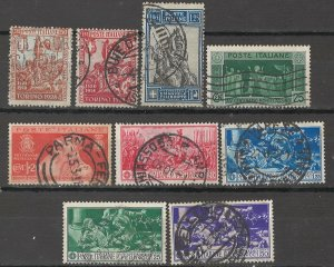 COLLECTION LOT # 5407 ITALY 9 STAMPS 1928+ CV+$18