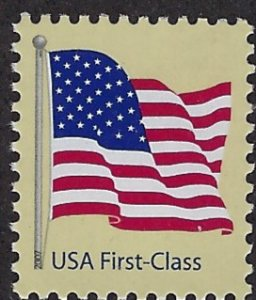Catalog # 4129 Single Stamp 41 Cent Flag First Class Mail perf