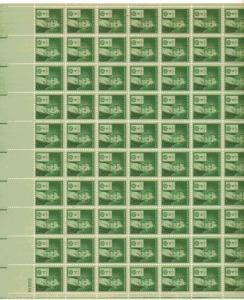 US 889 - 1¢ Eli Whitney Unused