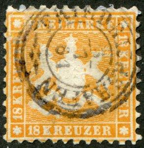 Wuertenberg    Sc.# 40  used