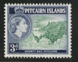 Pitcairn Islands Scott 24 MH* stamp