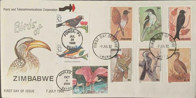 HNLP Hideaki Nakano 3322 Birds Puerto Rico on Zimbabwe Birds First Day