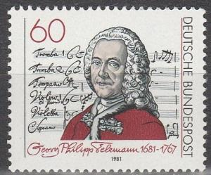 Germany #1344  MNH  (S7268)