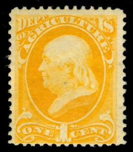 MOMEN: US STAMPS #O1 MINT OG NH OFFICIAL