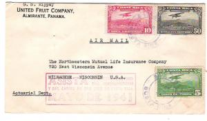 Costa Rica Commercial Airmail to USA w/1941 Football Cachet