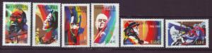 J20454 lstamps 2002 france set mnh #2905-10 music famous people