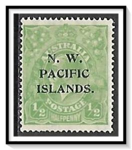 North West Pacific Islands #39 KG V MLH