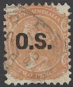 SOUTH AUSTRALIA O46 USED BIN $.80 ROYALTY