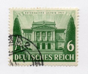 Germany 1943 Early Issue Fine Used 6pf. NW-100725