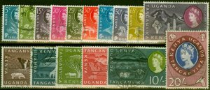 K.U.T 1960 Set of 16 SG183-198 Fine Used