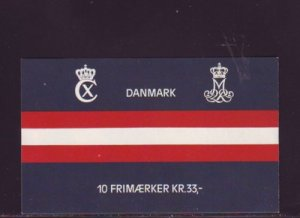 Denmark Sc B66 1985 Liberation stamp in a booklet of 10 mint NH