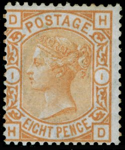 SG156, 8d orange, M MINT. Cat £1850. HD
