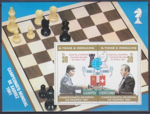 1981 Sao Tome and Principe 708-09/B67 I Chess / Grandmasters 16,00 €