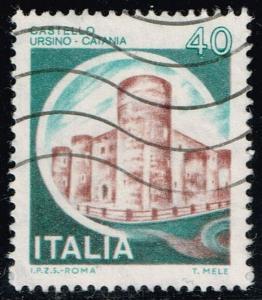 Italy #1411 Ursino Castle; Used (0.25)