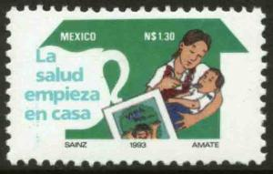 MEXICO 1816, Health begins at home. MINT, NH. VF.