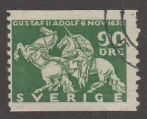 Sweden Stamp ,used, Scott# 235, Horses on stamps, Knights,  horse, #M427