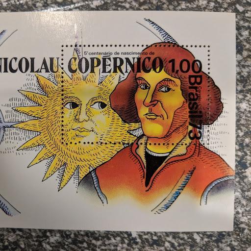 Brazil 1301 - Copernicus XFNH, CV $22.50