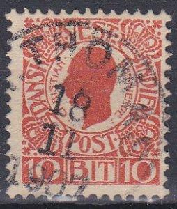 Danish West Indies Sc #32 Used