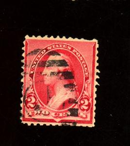 220c Used F-VF pulled perf Cat $35
