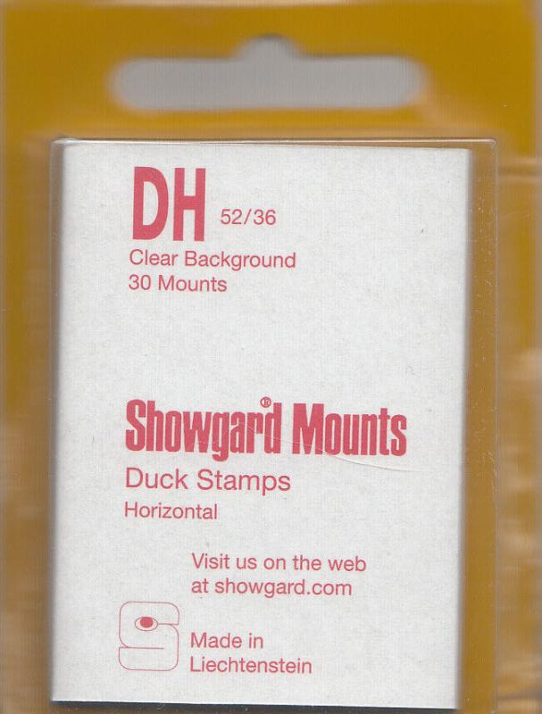 SHOWGARD CLEAR MOUNTS DH 52/36 (30) RETAIL PRICE $3.95