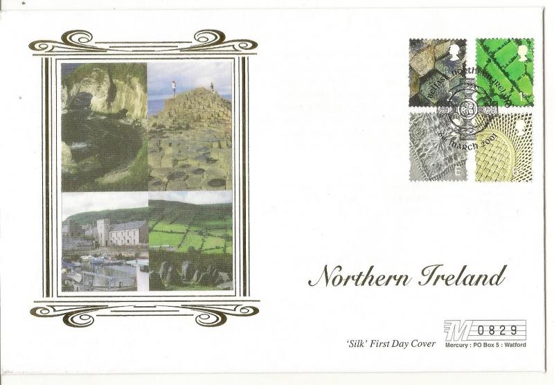 Northern Ireland 2001 Regional Issues FDC