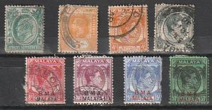 #109,155,240,243,261,262,264,267 Straits Settlements Used