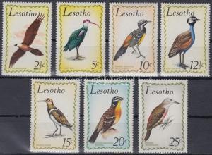 Lesotho stamp Birds set MNH 1971 Mi 105-111 WS165110