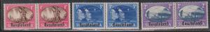 BASUTOLAND Scott # 29-31 MH - Peace Issue South Africa Stamps Overprinted