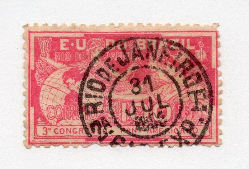 Brazil - Sc# 172Used (pulled perf btm)  -  Lot 0316151