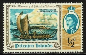 Pitcairn Islands 1967 Scott# 67 MH
