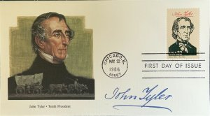 Fleetwood 2217 President John Tyler of Virginia 1st Accidental President