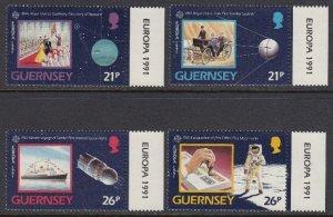 Guernsey 449-52 Europa mnh