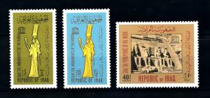 [91189] Iraq Irak 1966 UNESCO Save the Monuments of the Nubia  MNH