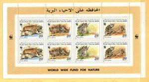 Libya Michel 2496-2499 Mint NH mini-sheet  [TG1122]